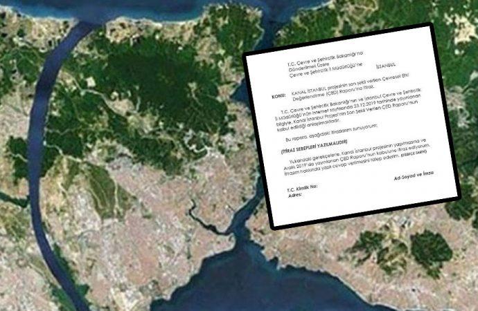 Kanal İstanbul'a karşı nasıl itiraz edilir? İşte yanıtı