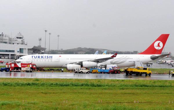 Çin Sivil Havacılık İdaresi THY'nin uçuşlarını durdurdu