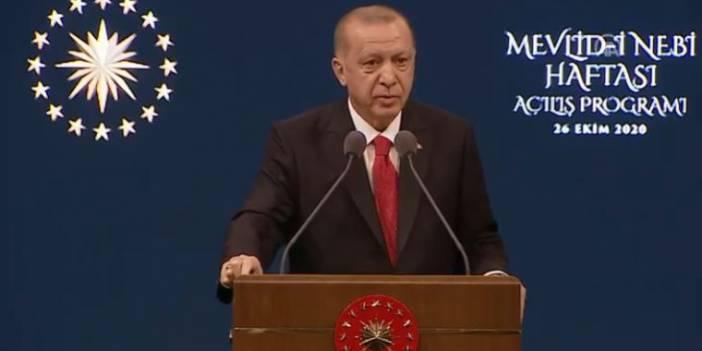 Erdoğan'dan boykot çağrısı: Fransız mallarını asla almayın