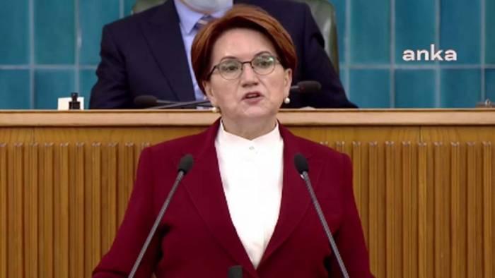 Meral Akşener: Erdoğan'a sesleniyorum böyle devlet yönetilmez